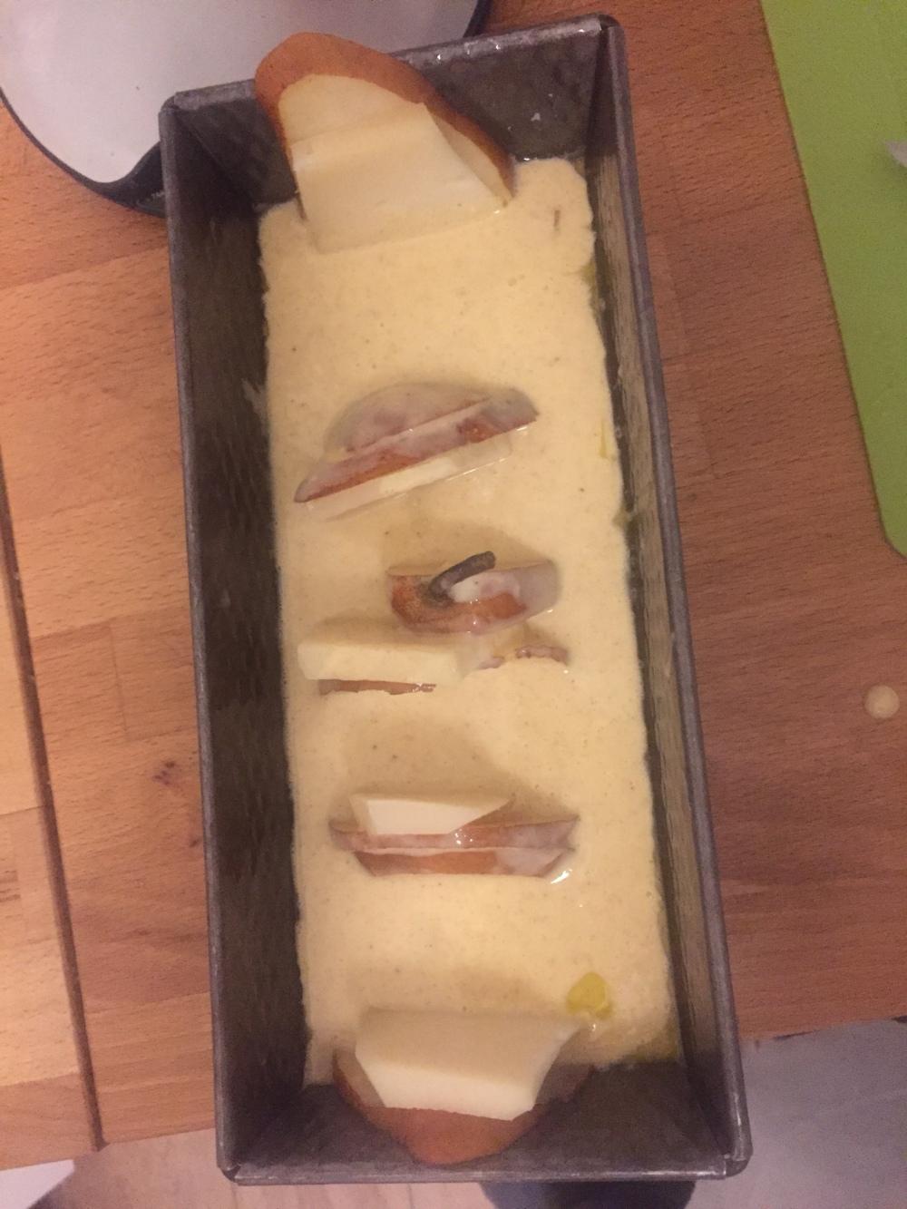 PLUM CAKE CRUDO